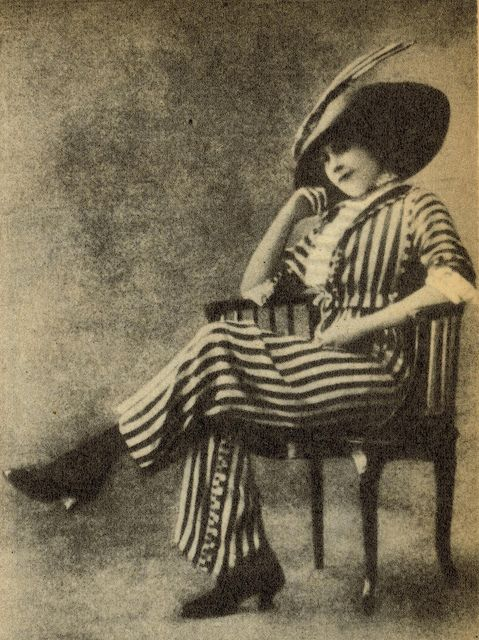 Vintage Dutch Woman in Trousers