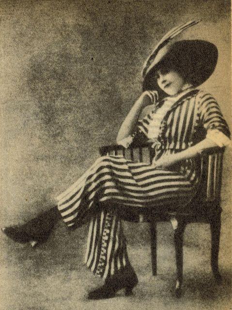 Vintage Dutch Woman in Trousers